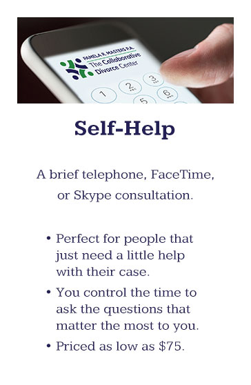 Self-Help is perfect for people that just need a little help with their case.